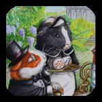 Illustrationen für Kinderbücher Seite Tierportrait