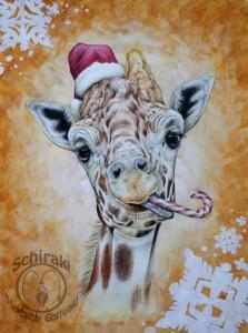 weihnachtsgiraffe