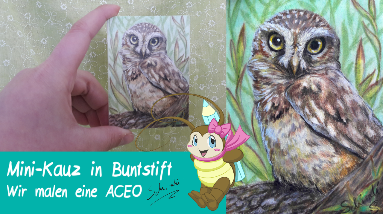 Wir malen eine ACEO – Kunst im Mini-Format
