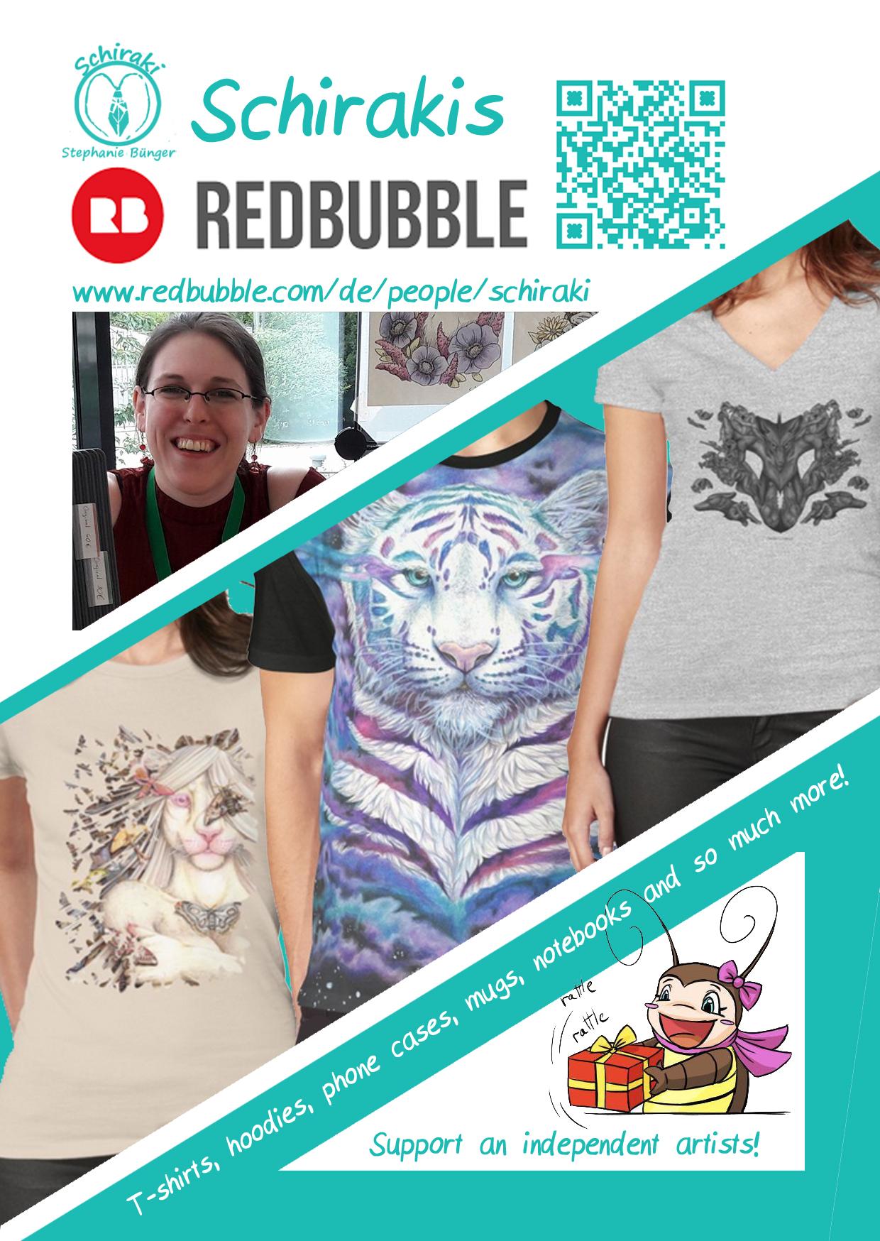Shirts, Handyhüllen und mehr auf Redbubble!